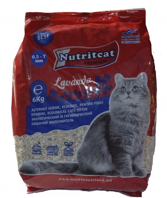 Nutritcat Premium Asternut pentru pisici (granule mari) 6 kg