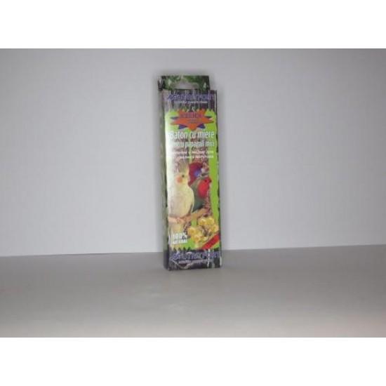 Baton cu miere pentru papagali mici, 76 g