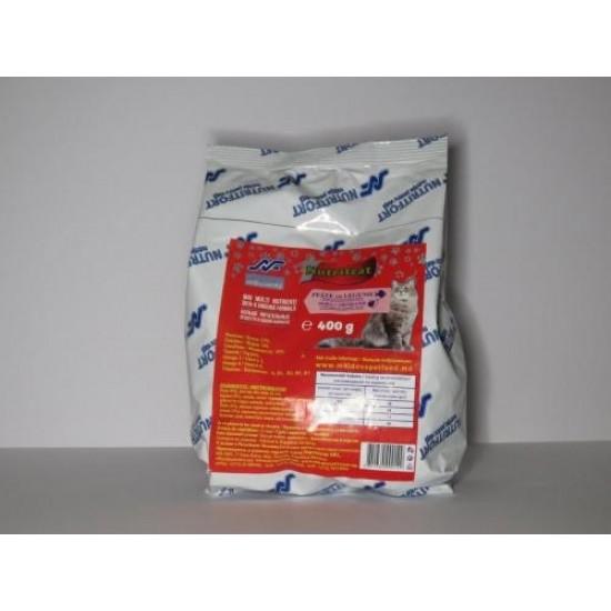 Nutritcat Peste cu Legume 400 g