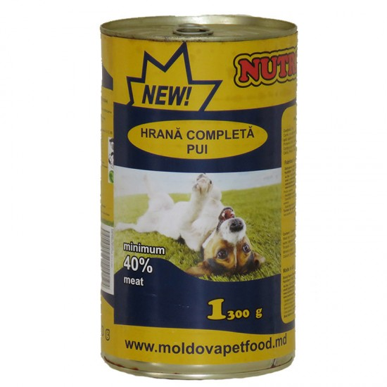 Nutritdog Hrana completa Pui 1,300 kg