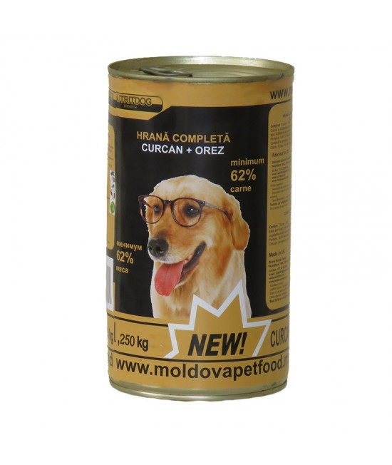 Nutritdog Premium Hrana completa Curcan+Orez 1,250 kg