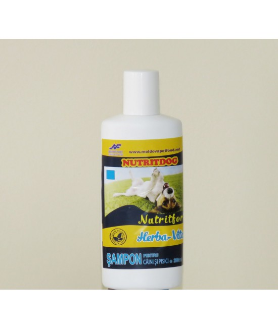 Nutritfort Herba-Vital Sampon pentru caini 200 ml