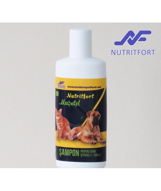 Nutritfort Musetel Sampon pentru caini si pisici 200 ml