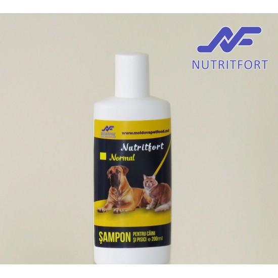 Nutritfort Normal Sampon pentru caini si pisici 200 ml