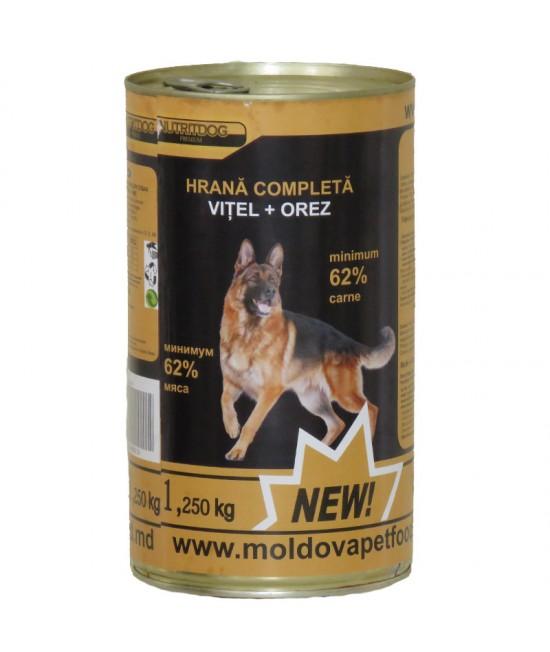 Nutritdog Premium Hrana completa Vitel+Orez 1,250 kg